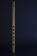 handmade wooden flute
