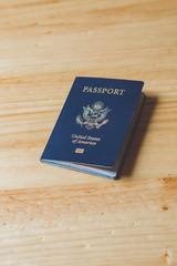 US Passport On Table