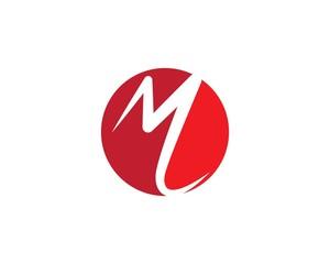 M Letter Logo Business