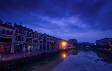 Image of Kaiping City, Guangdong, China