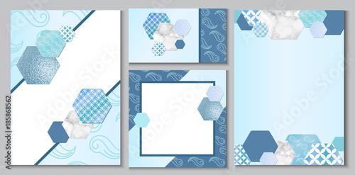 Japanese geometric pattern brochure layout business card template japanese geometric pattern brochure layout business card template or background in trendy minimalistic style stopboris Images