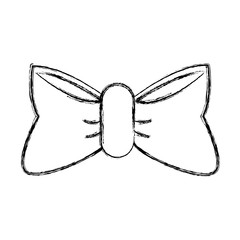 bow tie isolated icon vector illustrationgraphic design