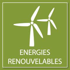 Logo énergies renouvelables.