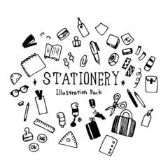 Stationery Illustration Pack