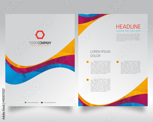 Businessbrochuretemplateflyersdesigntemplatecompany Profile - Company profile brochure template