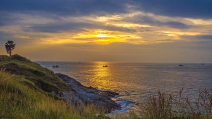 Sunset in Phuket,Thailand