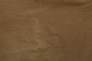 Crumpled khaki canvas texture