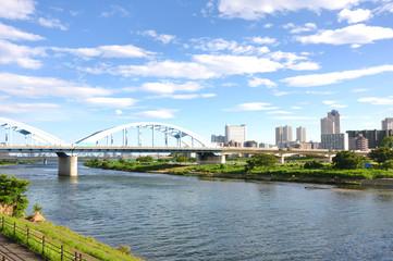 丸子橋と中原区