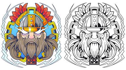 mythological scandinavian god of thunder Thor