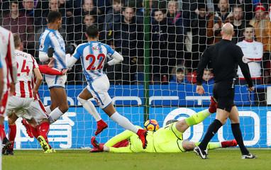 Premier League - Huddersfield Town vs Stoke City