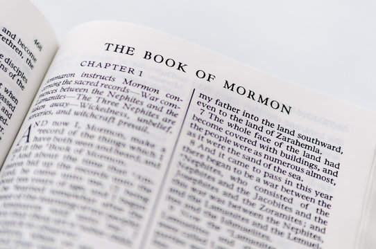 The Book Of Mormon, from the Church of Jesus Christ of Latter Day Saints