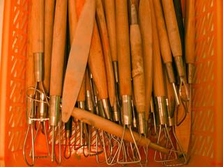 Clay art tools