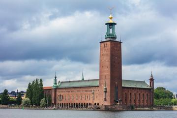 City Hall (Stadhuset). Stockholm, Sweden