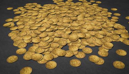 Schatz von Écu d'or à la chaise Philipps VI 1337 Goldmünzen