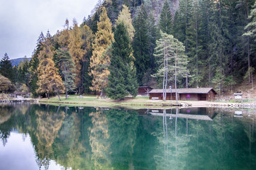 Lago Smeraldo Trentino Alto Adige