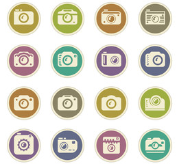photo camera paper stickers