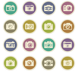 photo camera paper stickers