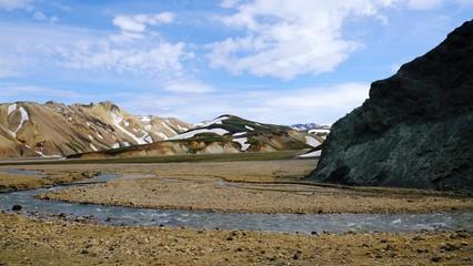 Iceland, Landmannalaugar, Ryolith, Mountains,