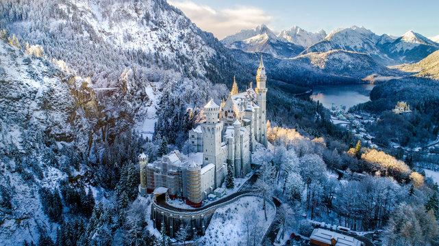 """Neuschwanstein Castle (""""Fairy Tale Castle"""")"""