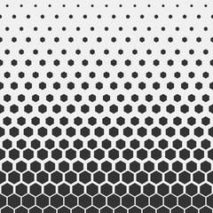 Geometric pattern. Hipster fashion design print hexagonal pattern. Black honeycombs on a light background. Vector.