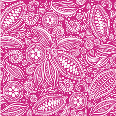 cacao beans seamless pattern