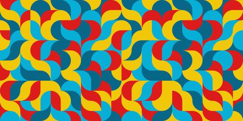 Geometric background Camouflage pattern