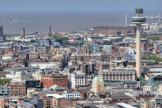 Liverpool City Centre, UK.