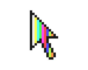 cursor tv channel pointer mouse internet web network image vector