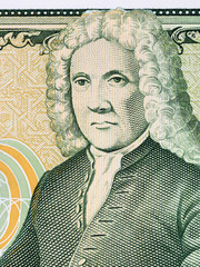 Arni Magnusson portrait from Icelandic money