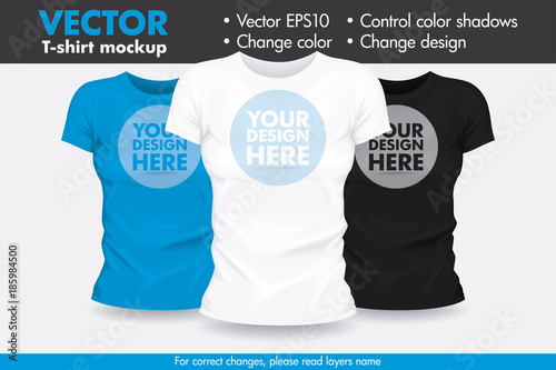 Replace Design With Your Design Change Colors Mock Up T Shirt