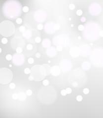 Light bokeh background vector
