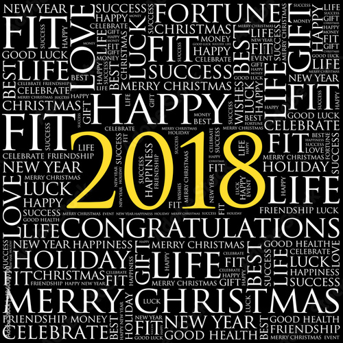 2018 year greeting word cloud collage happy new year celebration 2018 year greeting word cloud collage happy new year celebration greeting card m4hsunfo