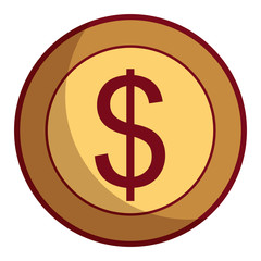 dollar money currency cash icon
