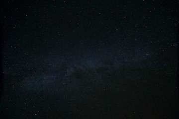 stars and milky way in sky at night