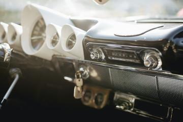 chevy impala radio and dashboard Wall mural