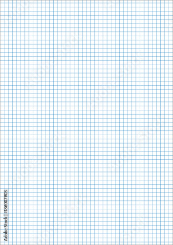 a4 sheet vertical cage 5 mm millimeter pattern of school notebook