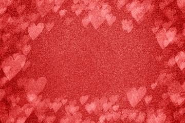 Glitter Valentines Themed Background