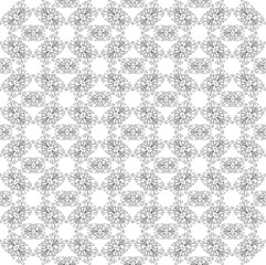 Abstract image, It can be used as a pattern for the fabric, shades black and white