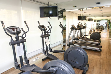Equipment and Machines at  Fitness Center