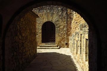 Altstadt von Pals an der Costa Brava, Spanien