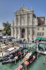 Ferrovia Vaporetto Stop, Venice, Italy.