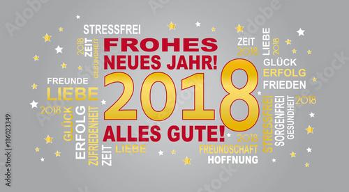 frohes neues jahr - 2018\
