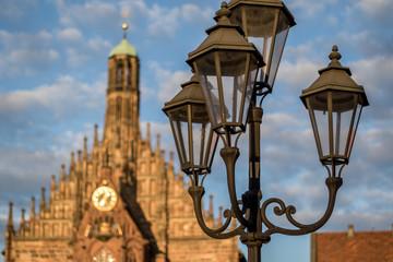 Am Altmarkt in Nürnberg