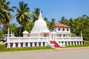 Buddhist Temple in Negombo