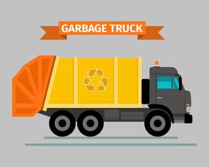 Urban sanitary vehicle garbage truck