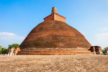 Jethawanaramaya Stupa in Anuradhapura