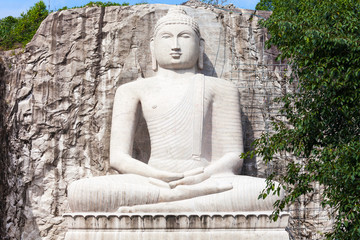 Rambadagalla Samadhi Buddha Statue