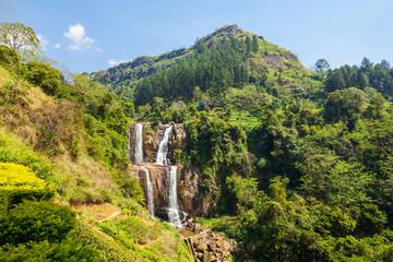 Ramboda Falls, Sri Lanka.