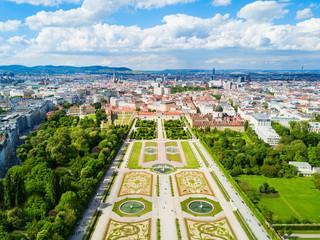 Foto op Canvas Wenen Belvedere Palace in Vienna