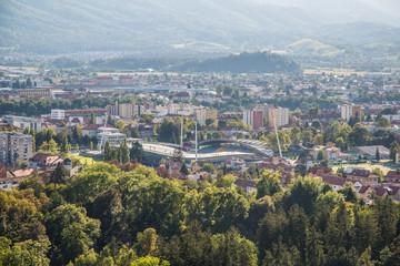 Maribor Pohorje Piramida Berg